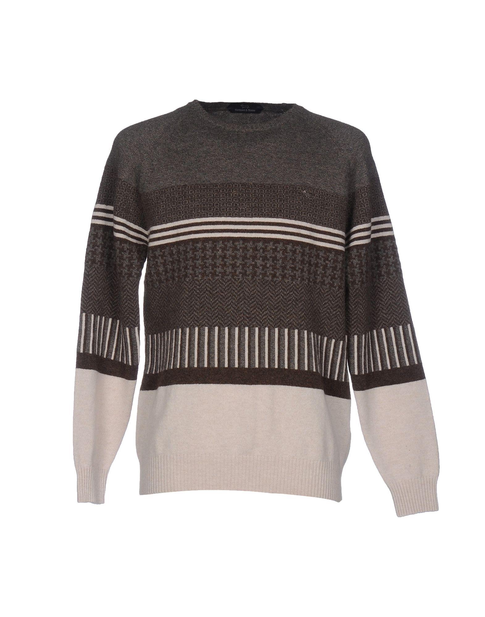 HARMONT&BLAINE Herren Pullover Farbe Grau Größe 8 jetztbilligerkaufen
