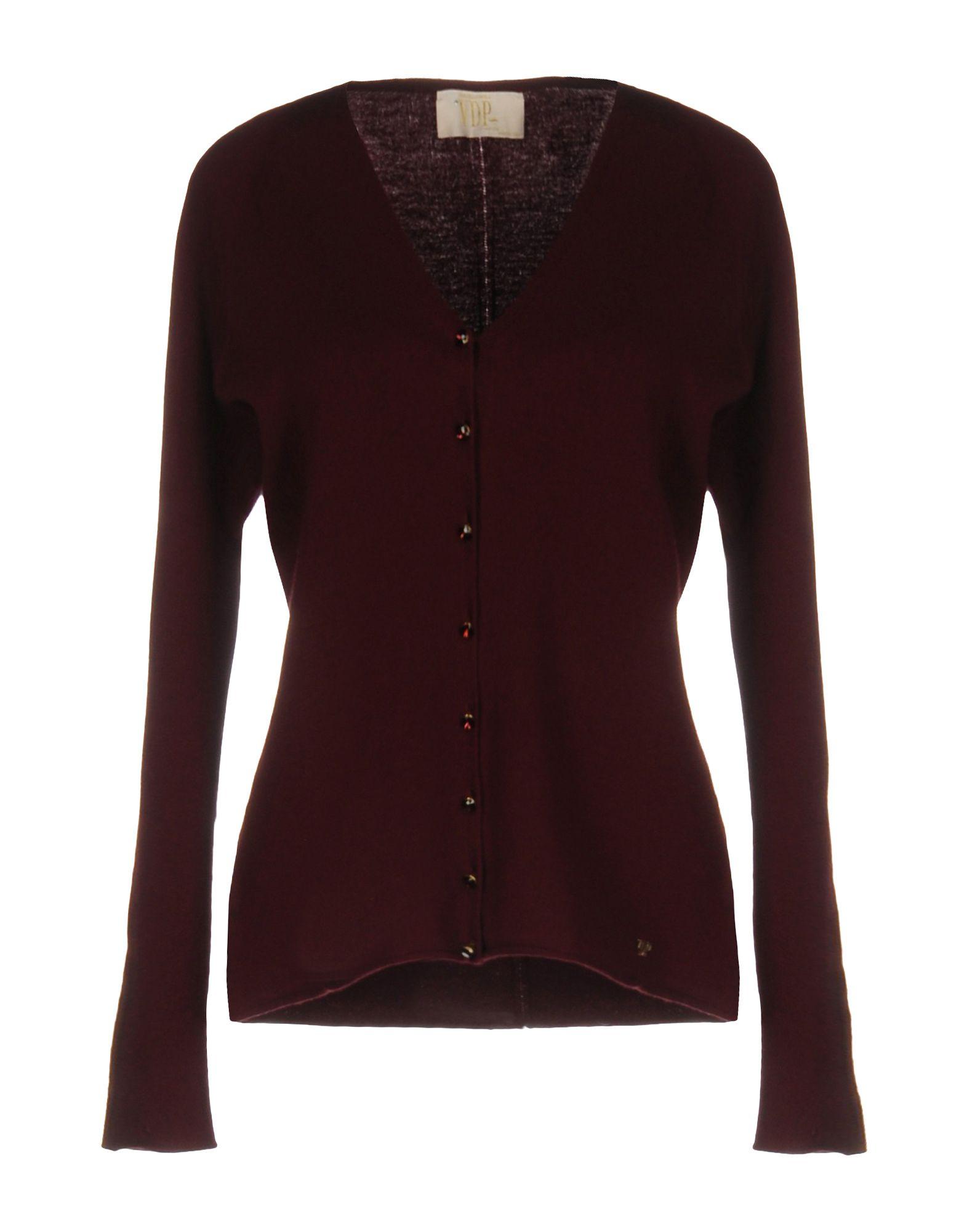 VDP COLLECTION Damen Strickjacke Farbe Bordeaux Größe 3 jetztbilligerkaufen