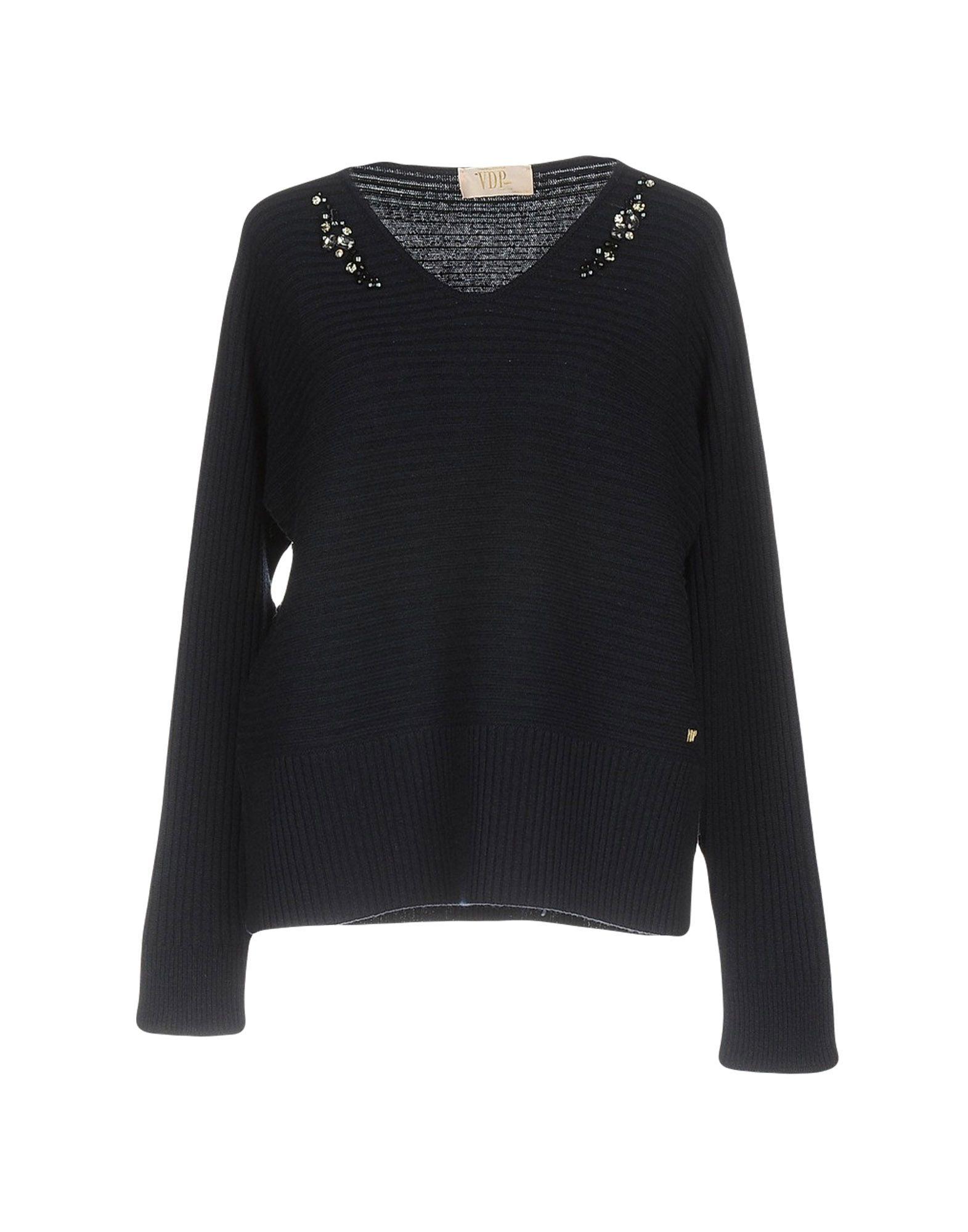 VDP COLLECTION Damen Pullover Farbe Dunkelblau Größe 5 jetztbilligerkaufen