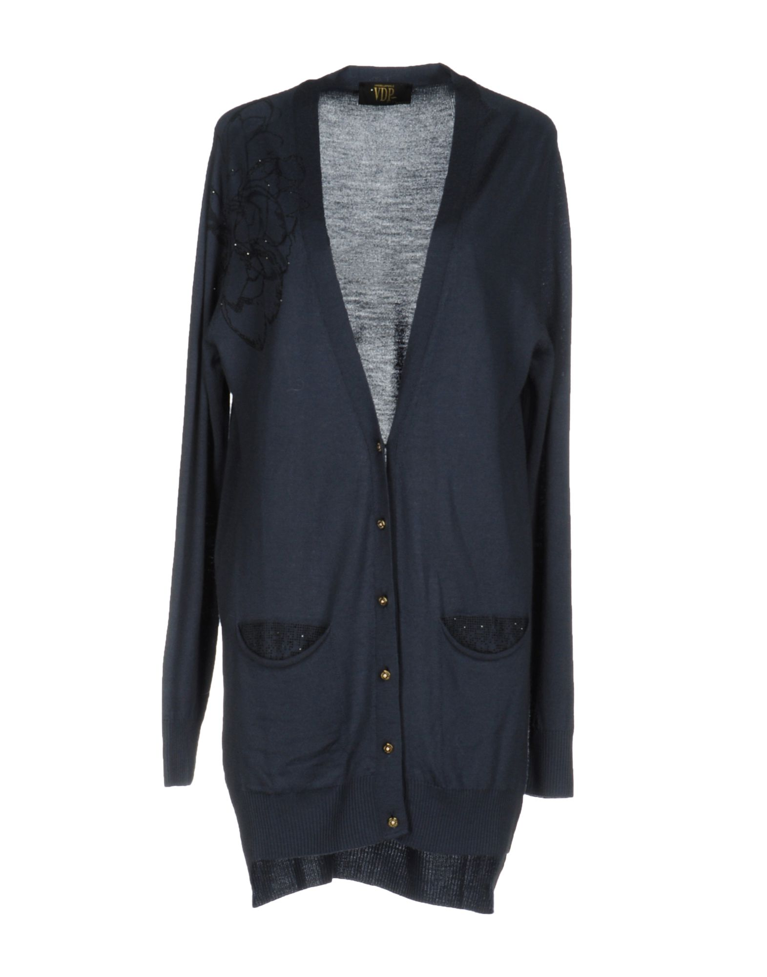 VDP CLUB Damen Strickjacke Farbe Taubenblau Größe 4 jetztbilligerkaufen