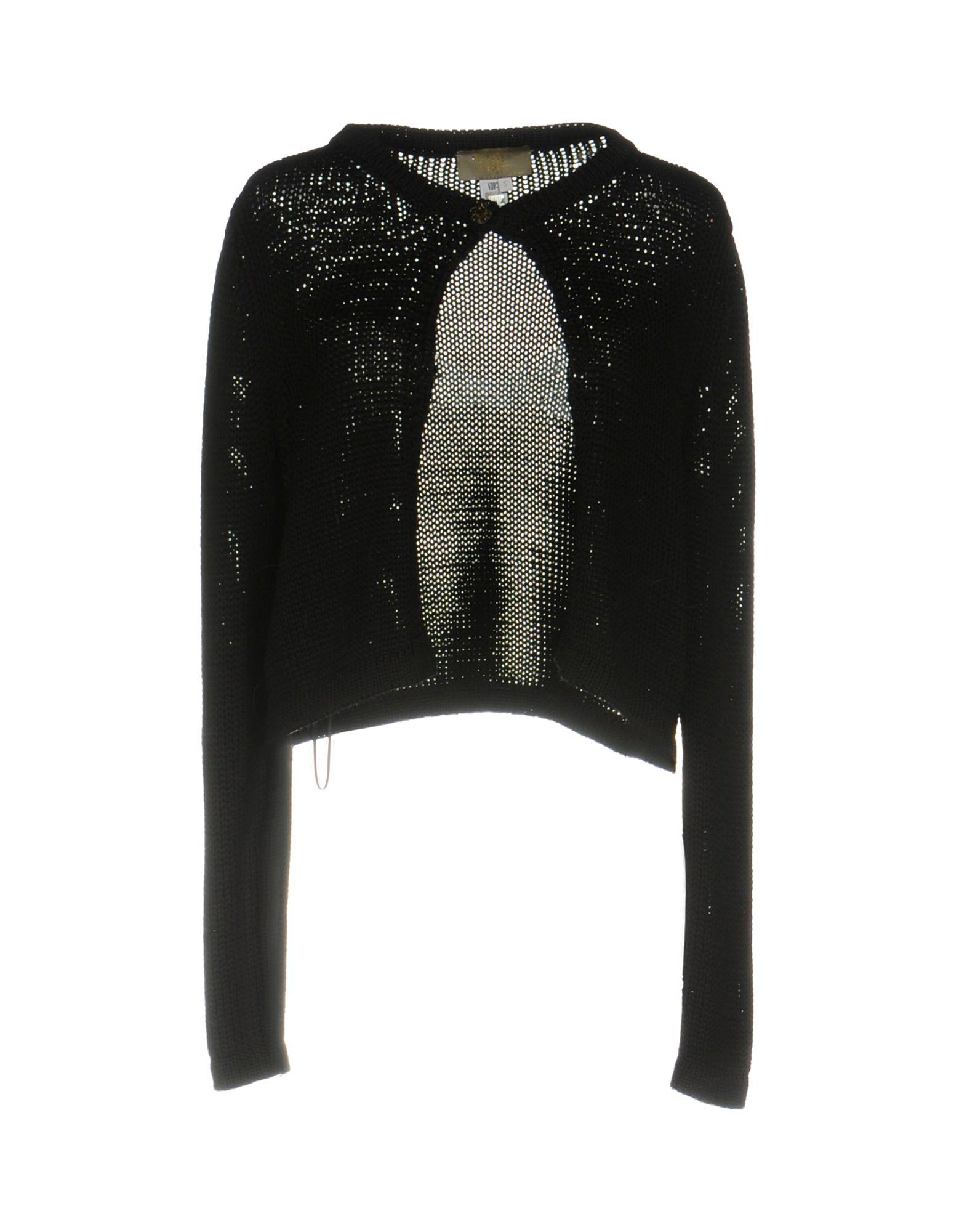 VDP COLLECTION Damen Strickjacke Farbe Schwarz Größe 3 jetztbilligerkaufen