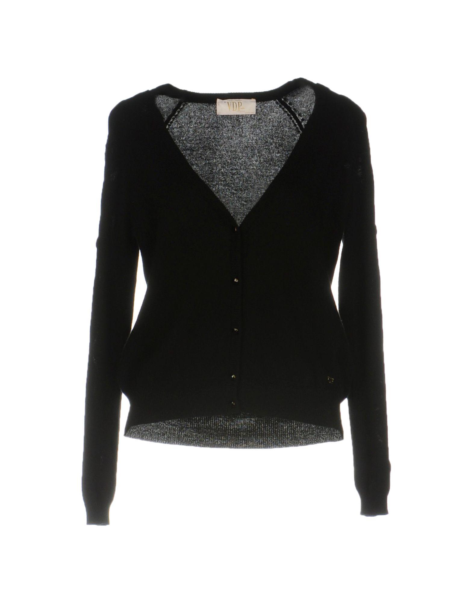 VDP COLLECTION Damen Strickjacke Farbe Schwarz Größe 4 jetztbilligerkaufen