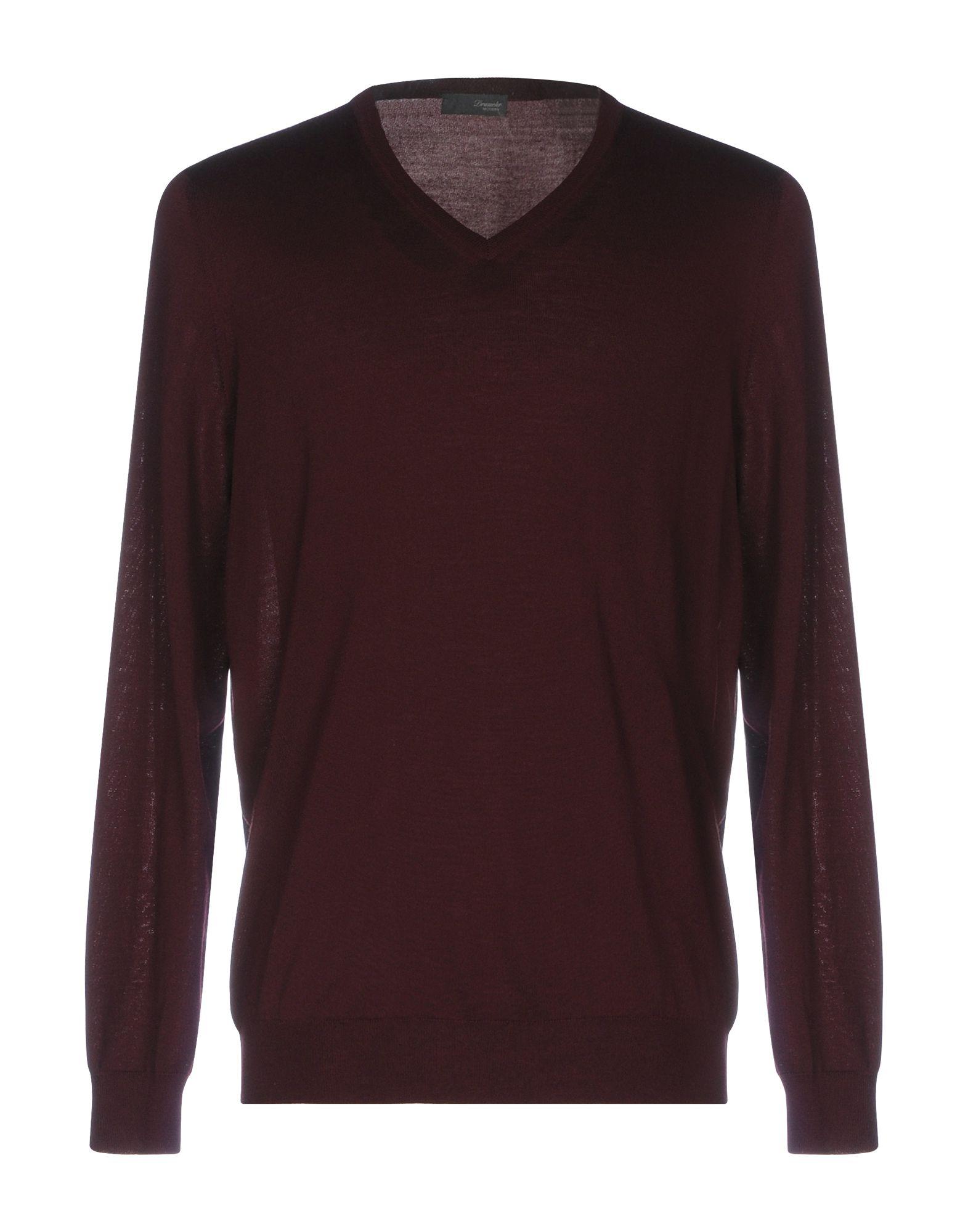 DRUMOHR Herren Pullover Farbe Bordeaux Größe 7 jetztbilligerkaufen