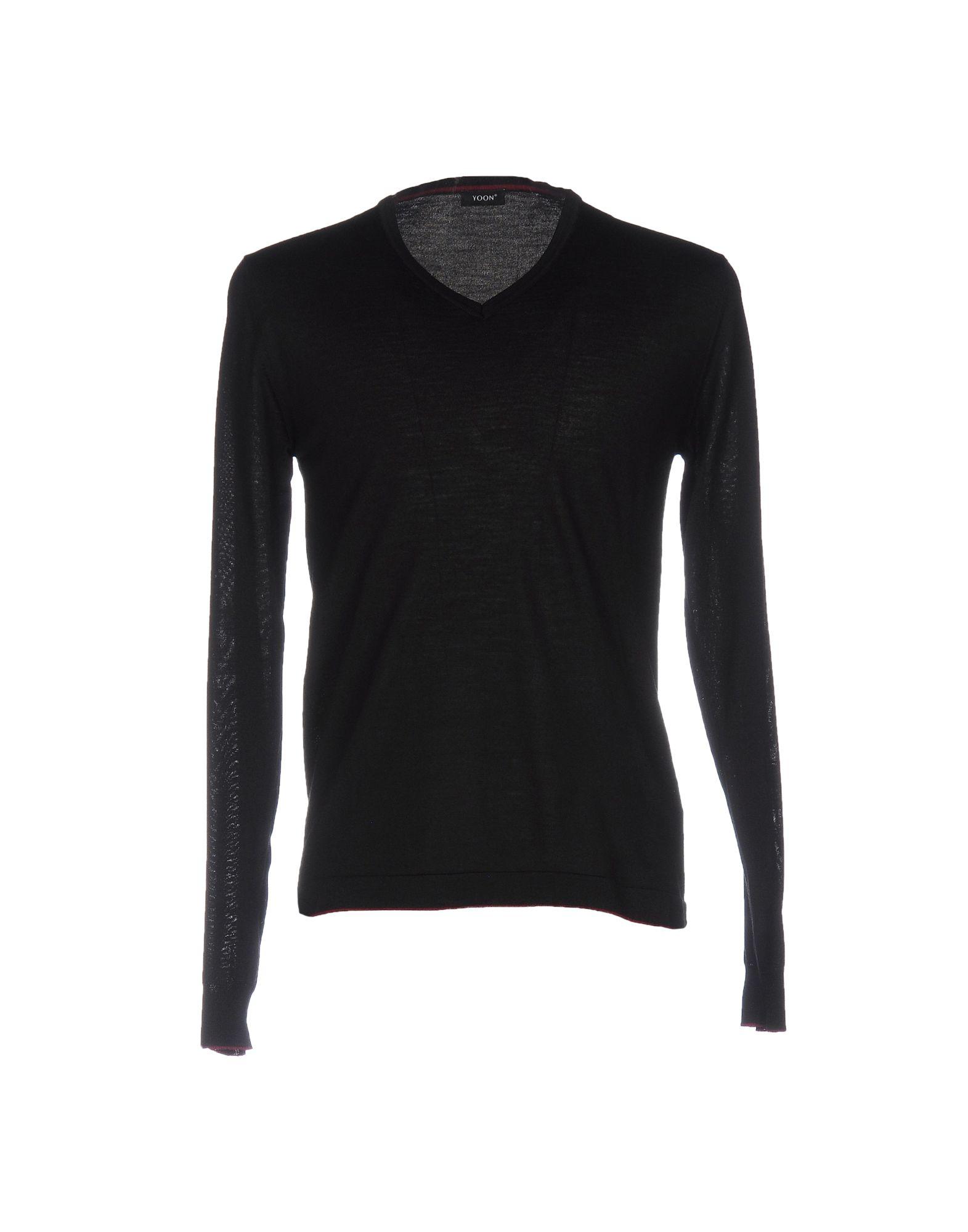 YOON Herren Pullover Farbe Schwarz Größe 4 jetztbilligerkaufen