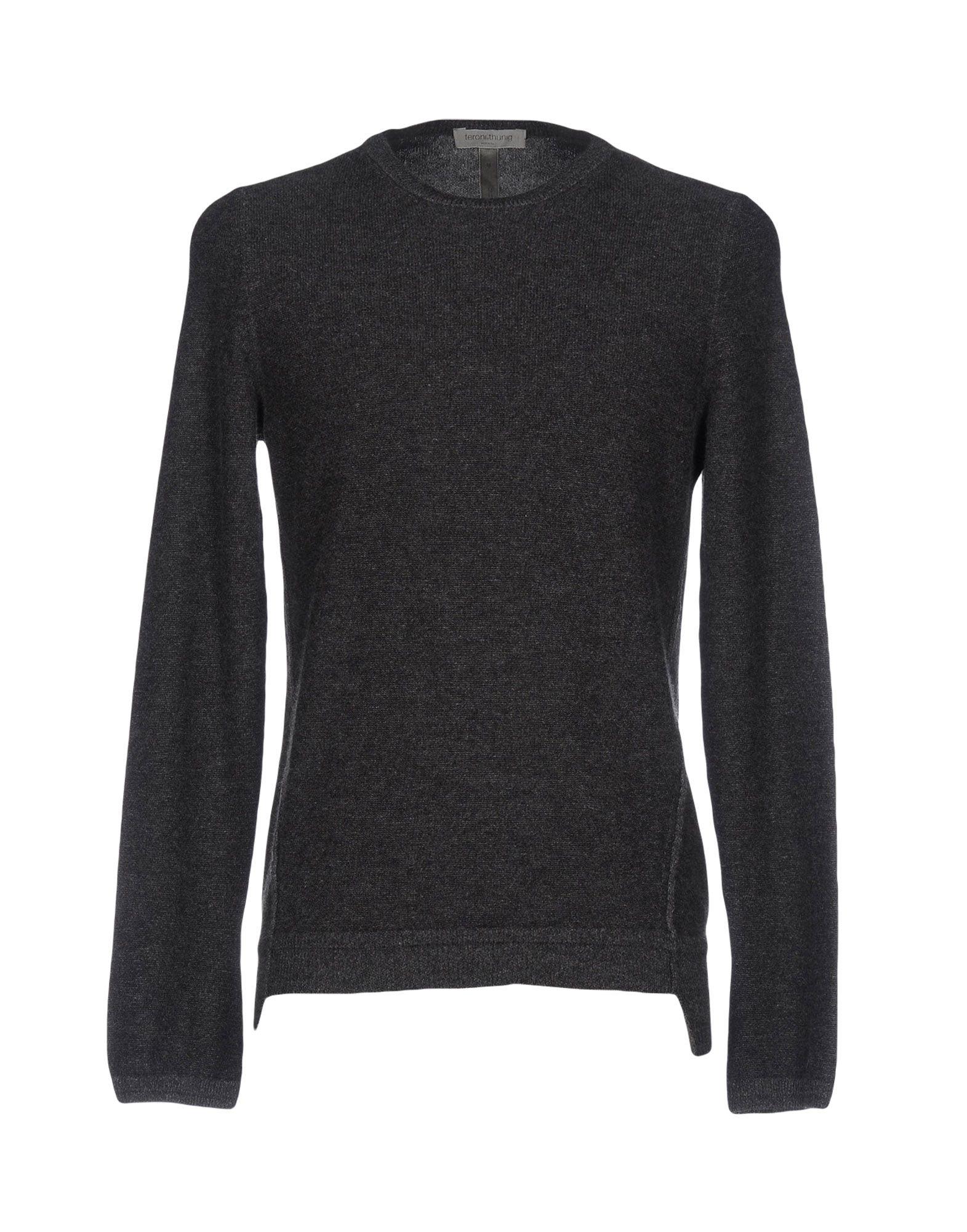 TERONI.THUNIG Herren Pullover Farbe Blei Größe 4 jetztbilligerkaufen