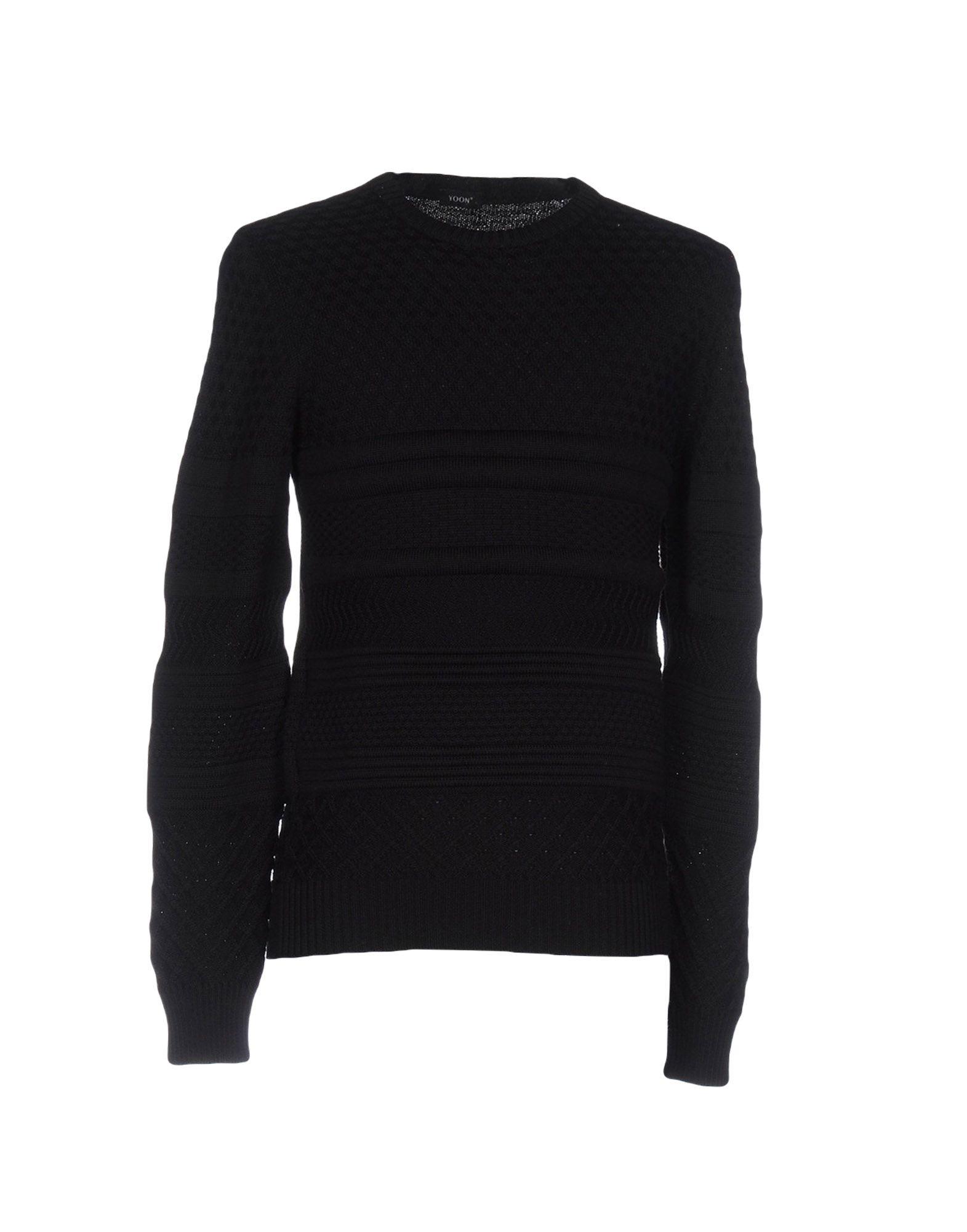 YOON Herren Pullover Farbe Schwarz Größe 6 jetztbilligerkaufen
