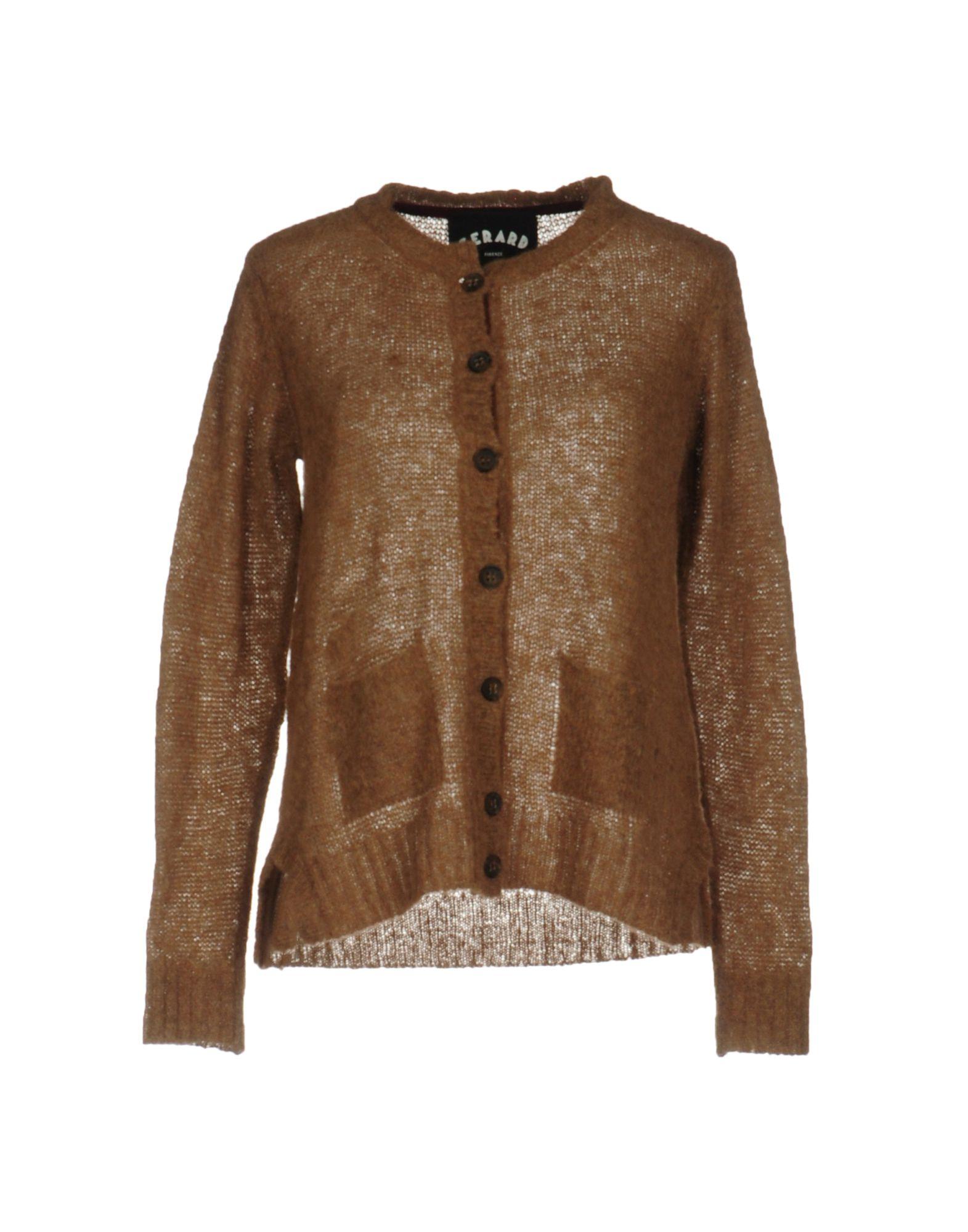 GERARD Damen Strickjacke Farbe Khaki Größe 5 jetztbilligerkaufen