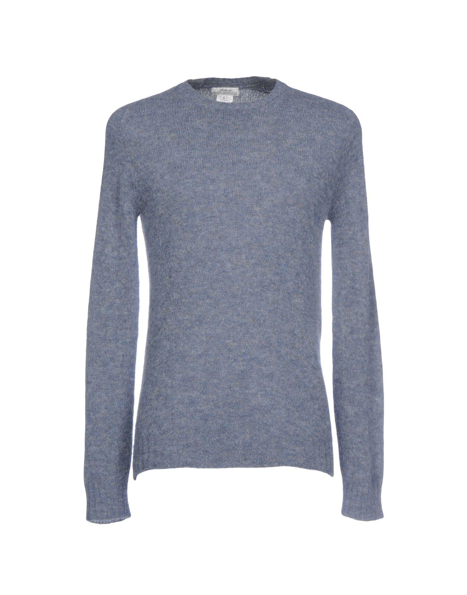 AUTHENTIC ORIGINAL VINTAGE STYLE Herren Pullover Farbe Taubenblau Größe 8 jetztbilligerkaufen