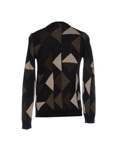 Фото 2 - Мужской свитер SHOESHINE черного цвета