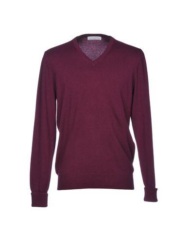 Фото - Мужской свитер  розовато-лилового цвета
