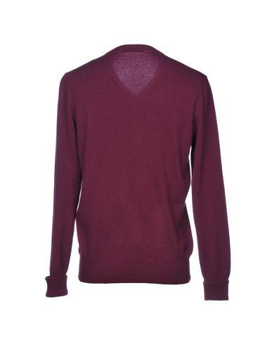 Фото 2 - Мужской свитер  розовато-лилового цвета