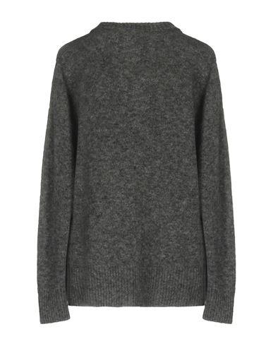 Фото 2 - Женский свитер  серого цвета