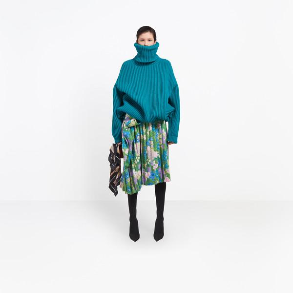 BALENCIAGA Knitwear D Long sleeves Turtleneck g