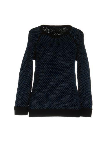 Фото - Женский свитер  темно-синего цвета