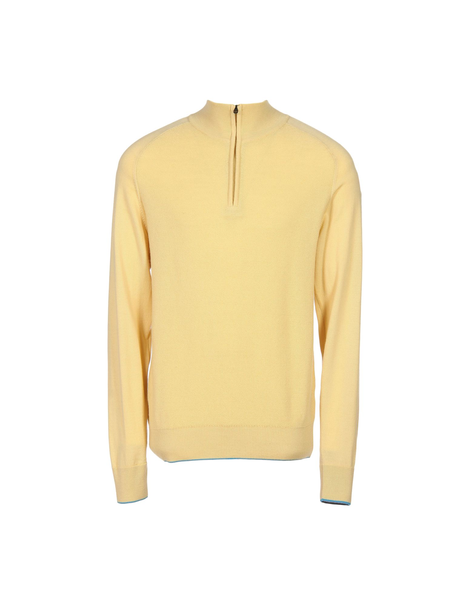 DUNHILL LINKS Sweater With Zip in Ocher