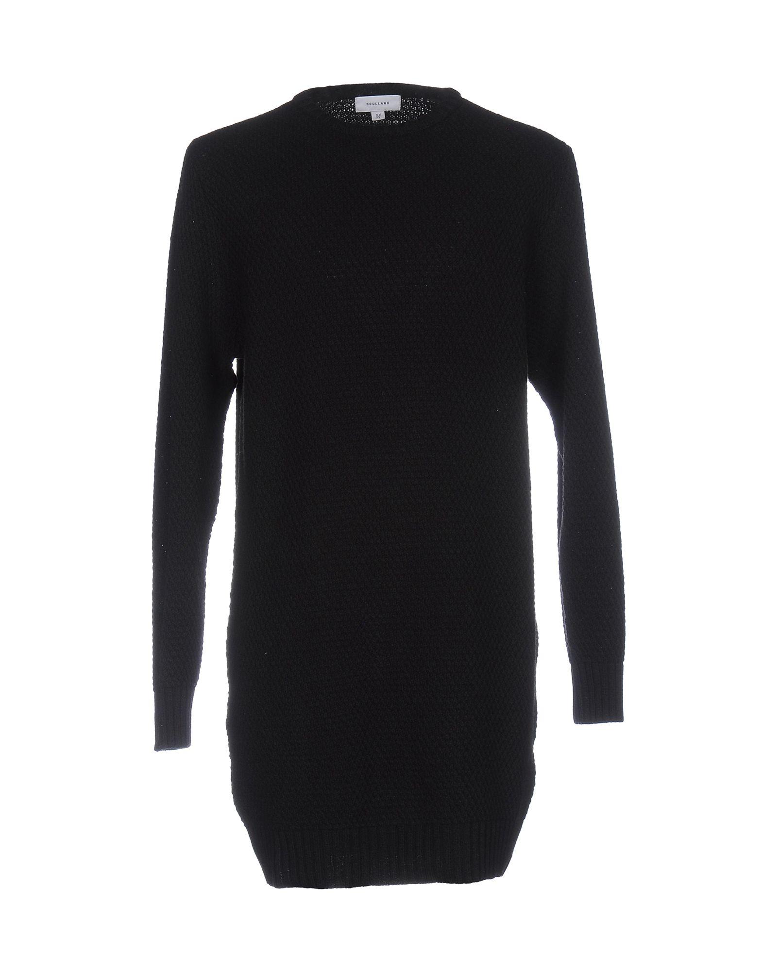 SOULLAND Sweater in Black