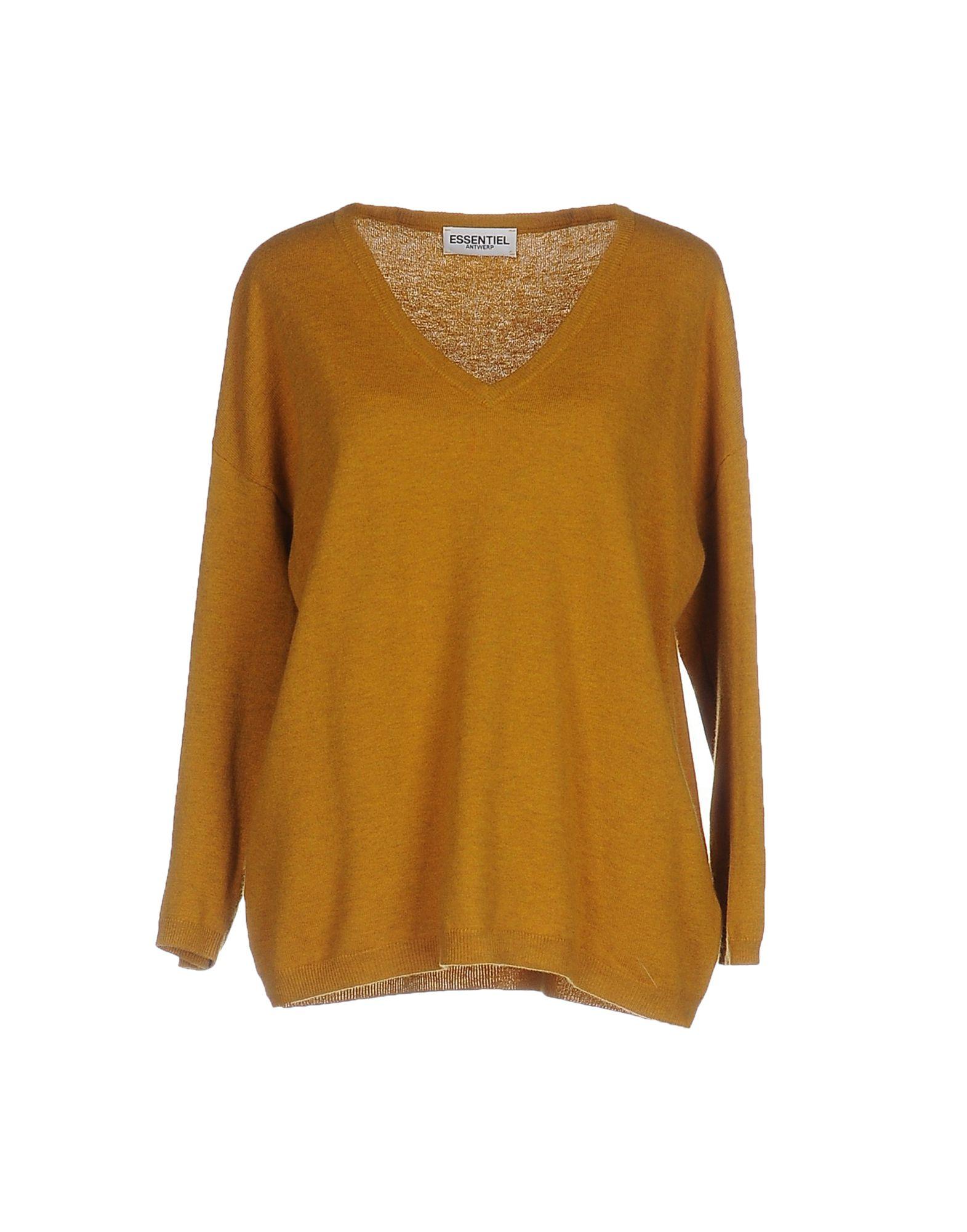 Essentiel Antwerp Sweaters In Ocher