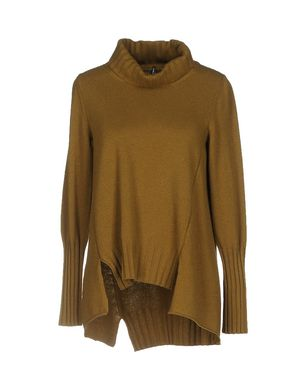 Neiße-Malxetal Angebote LIVIANA CONTI Damen Rollkragenpullover Farbe Khaki Größe 5