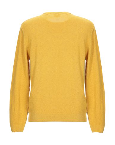 Фото 2 - Мужской свитер RE_BRANDED желтого цвета