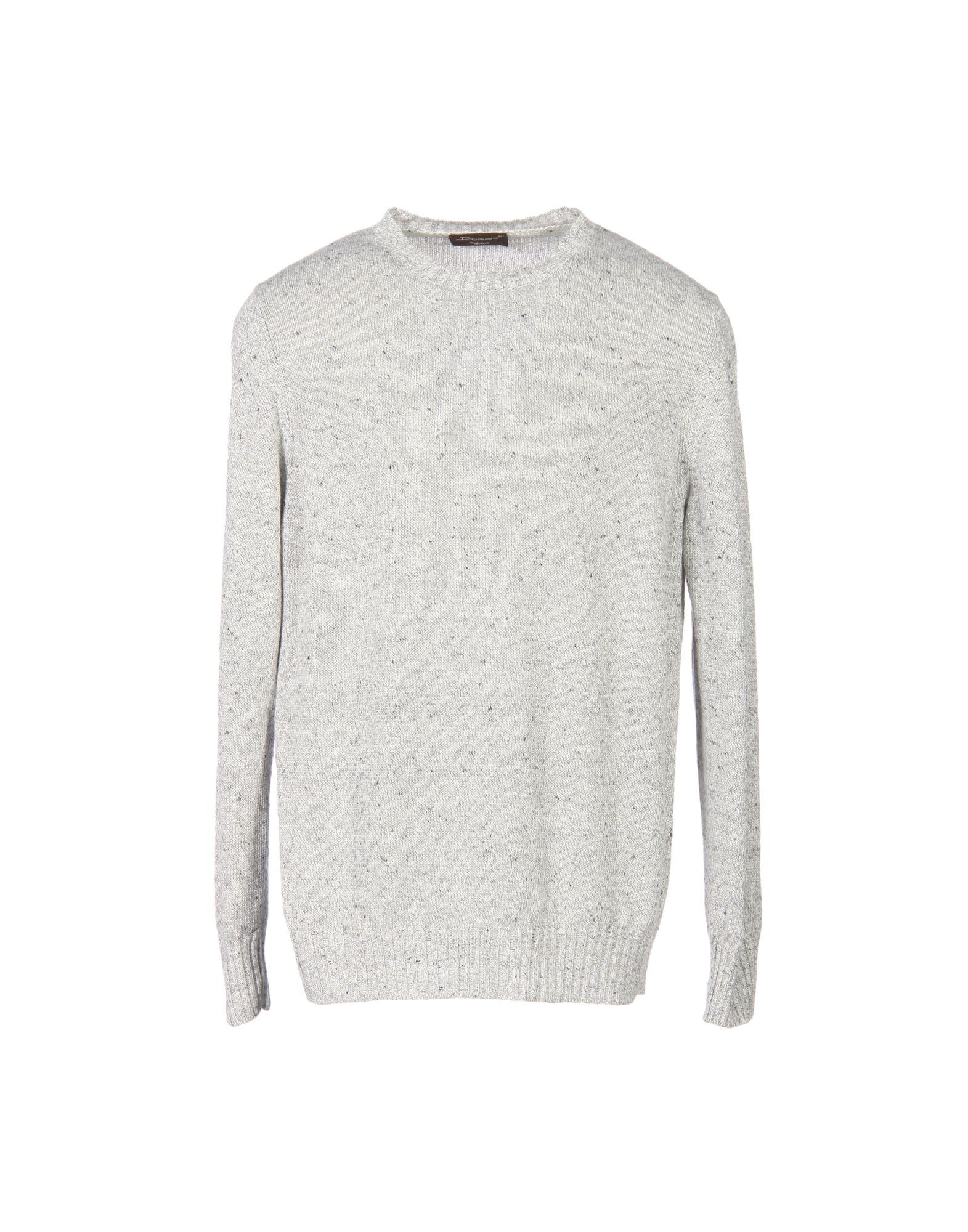 DORIANI Sweater in Light Grey