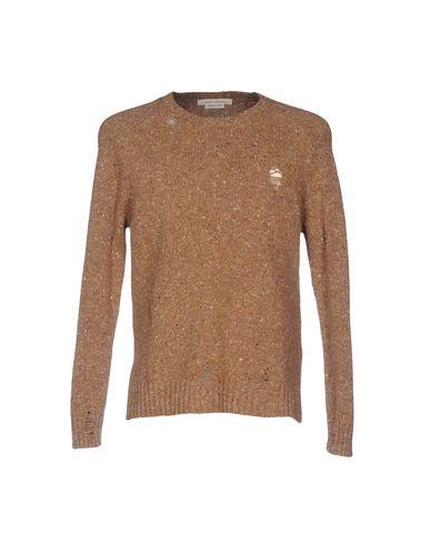 Фото - Мужской свитер  коричневого цвета