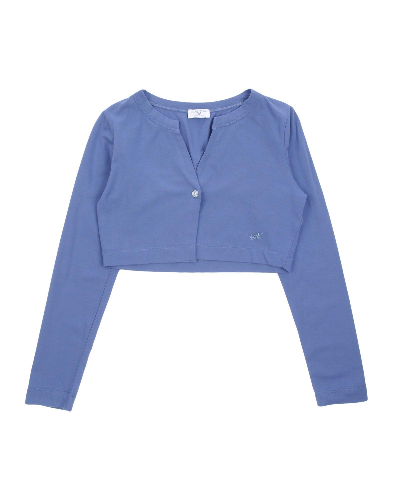 MONNALISA Cardigan in Slate Blue