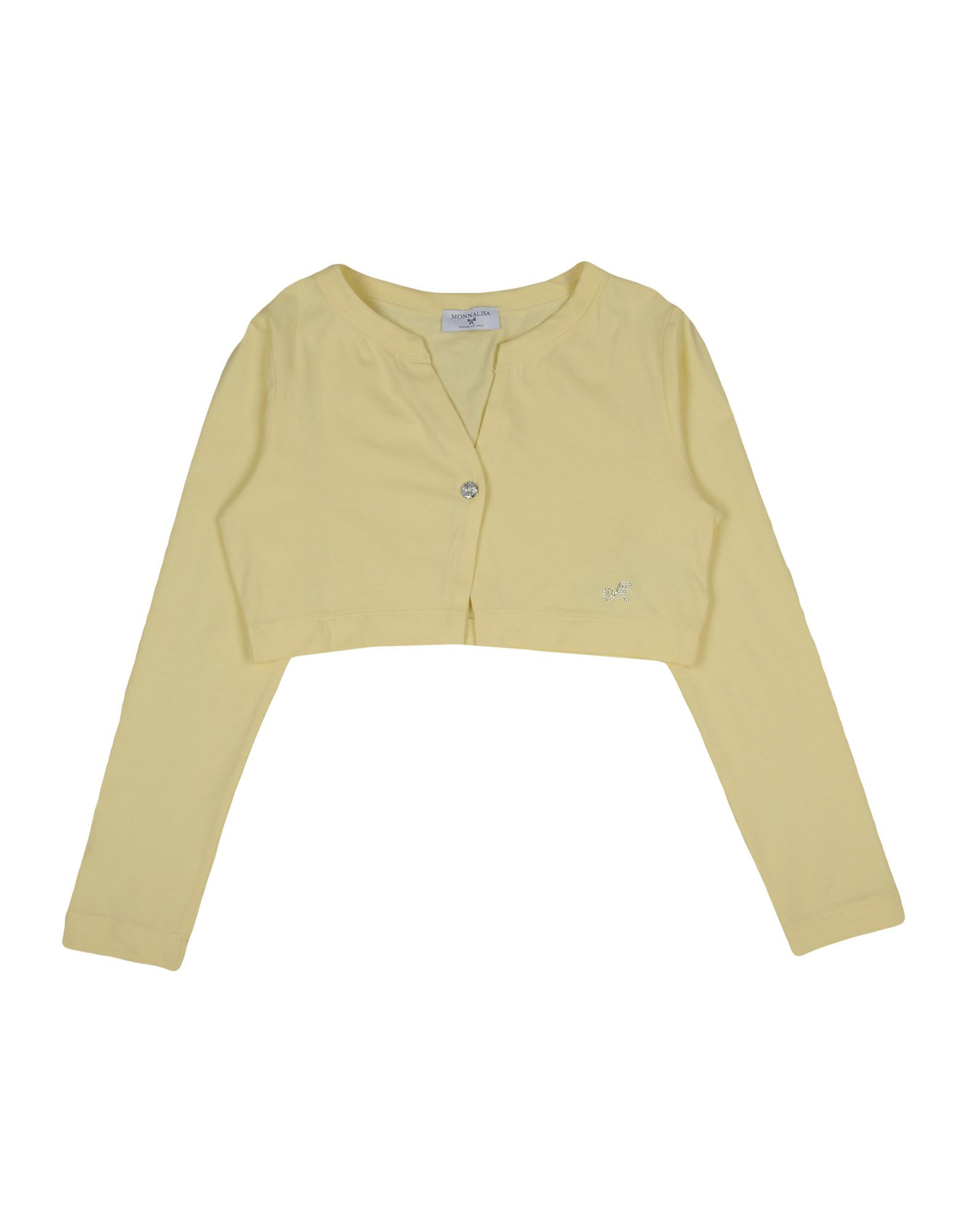 MONNALISA Cardigan in Yellow