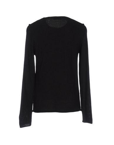 Фото 2 - Мужской свитер LONG WAVE черного цвета