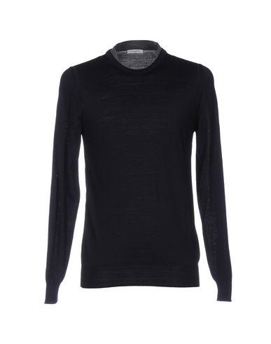 Купить Мужской свитер PAOLO PECORA темно-синего цвета