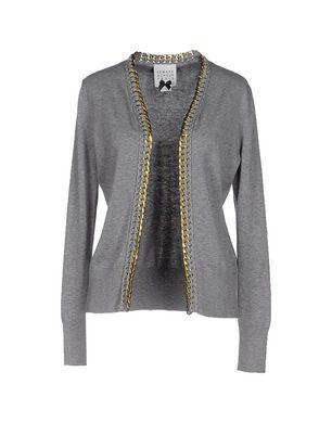 EDWARD ACHOUR Damen Strickjacke Farbe Grau Größe 6 Sale Angebote Pappenheim