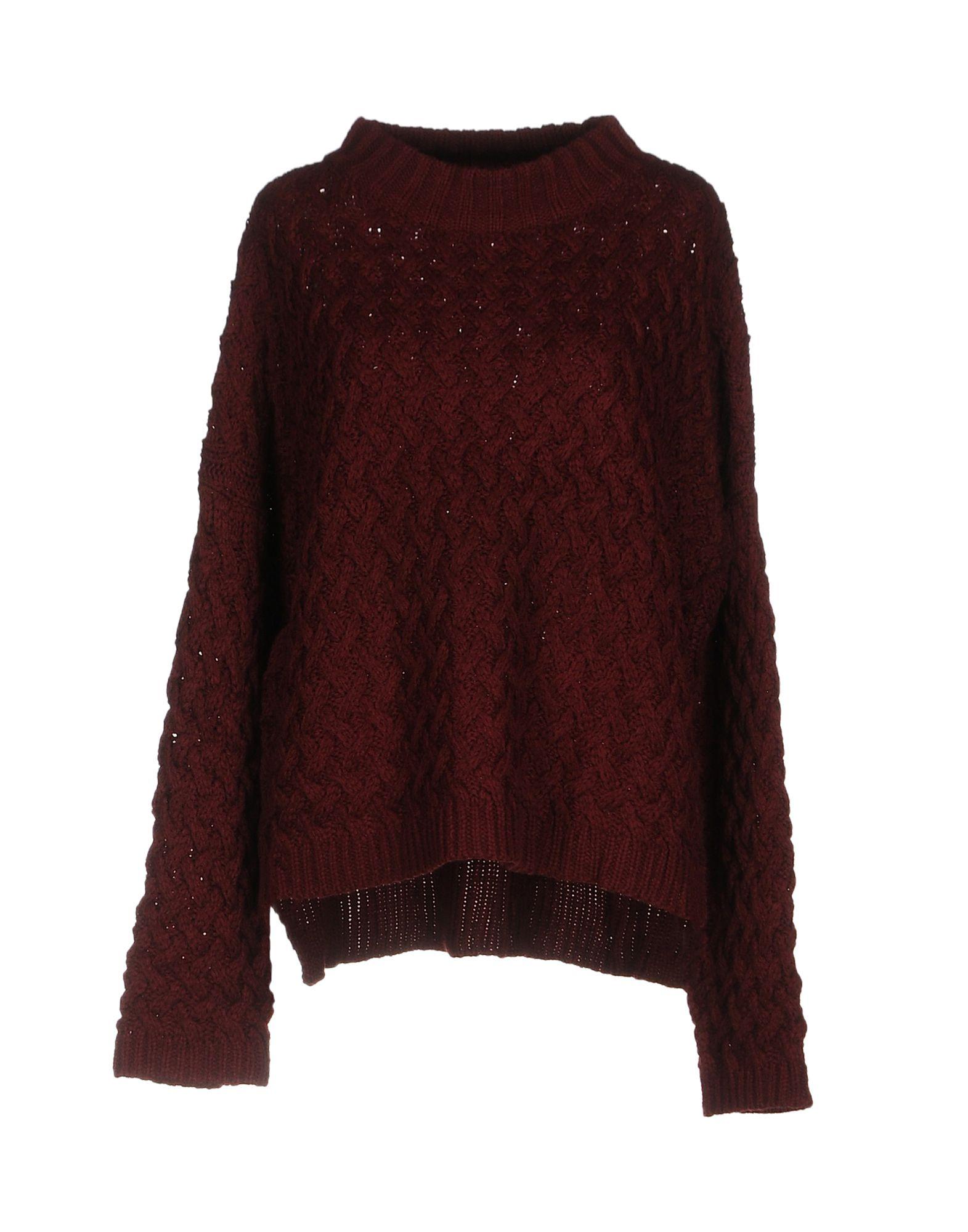 GOLDIE LONDON Sweater in Maroon