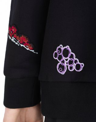 LANVIN EMBROIDERED SWEATSHIRT Knitwear & Jumpers U b