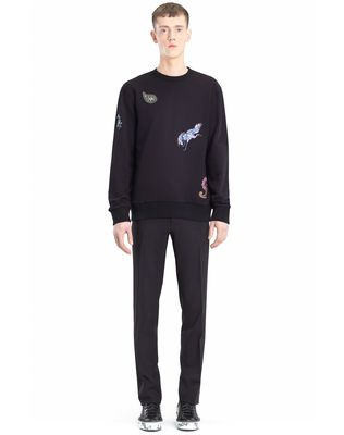 LANVIN EMBROIDERED SWEATSHIRT Knitwear & Jumpers U r