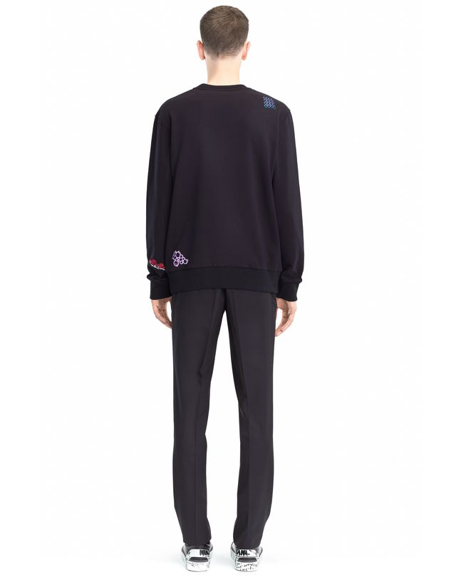 LANVIN EMBROIDERED SWEATSHIRT Knitwear & Jumpers U d