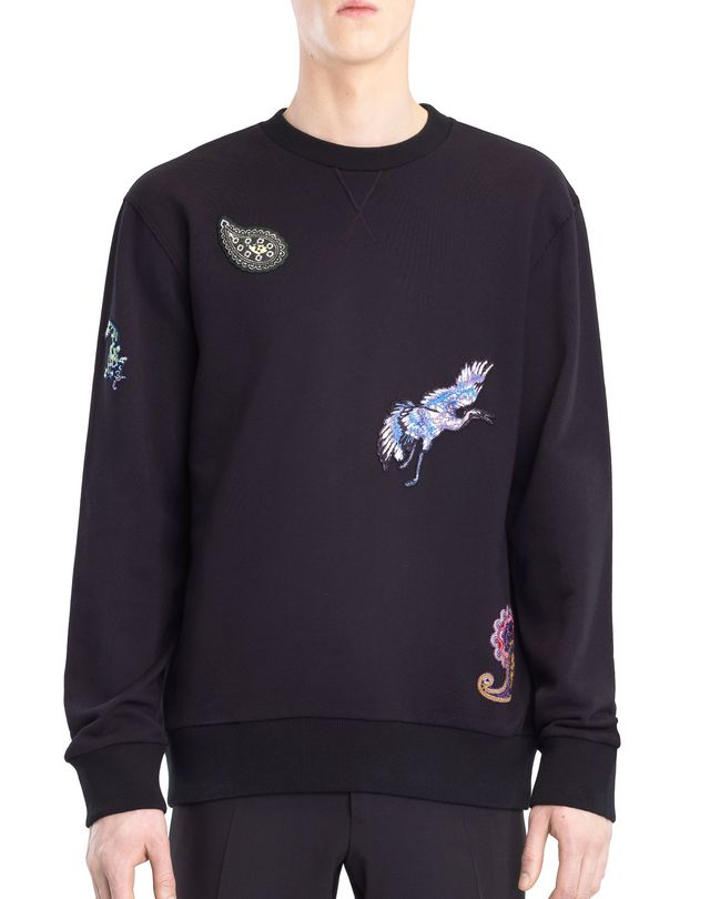 LANVIN EMBROIDERED SWEATSHIRT Knitwear & Jumpers U f