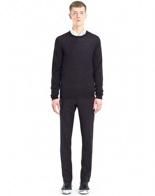 LANVIN MOULINÉ NECK SWEATER Knitwear & Jumpers U r