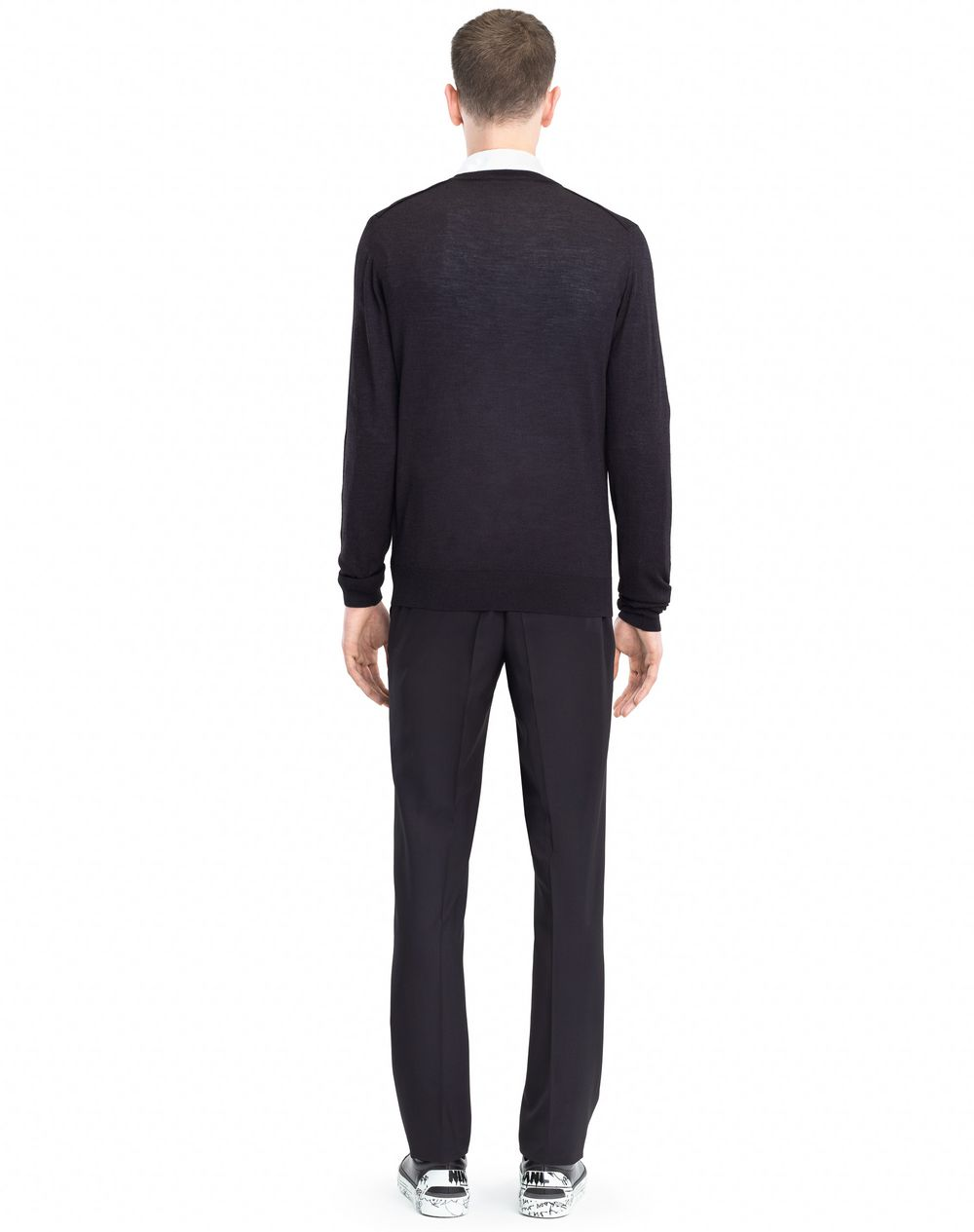 MOULINÉ NECK SWEATER - Lanvin
