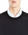 LANVIN Knitwear & Sweaters Man SWEATER WITH JERSEY FRONT f