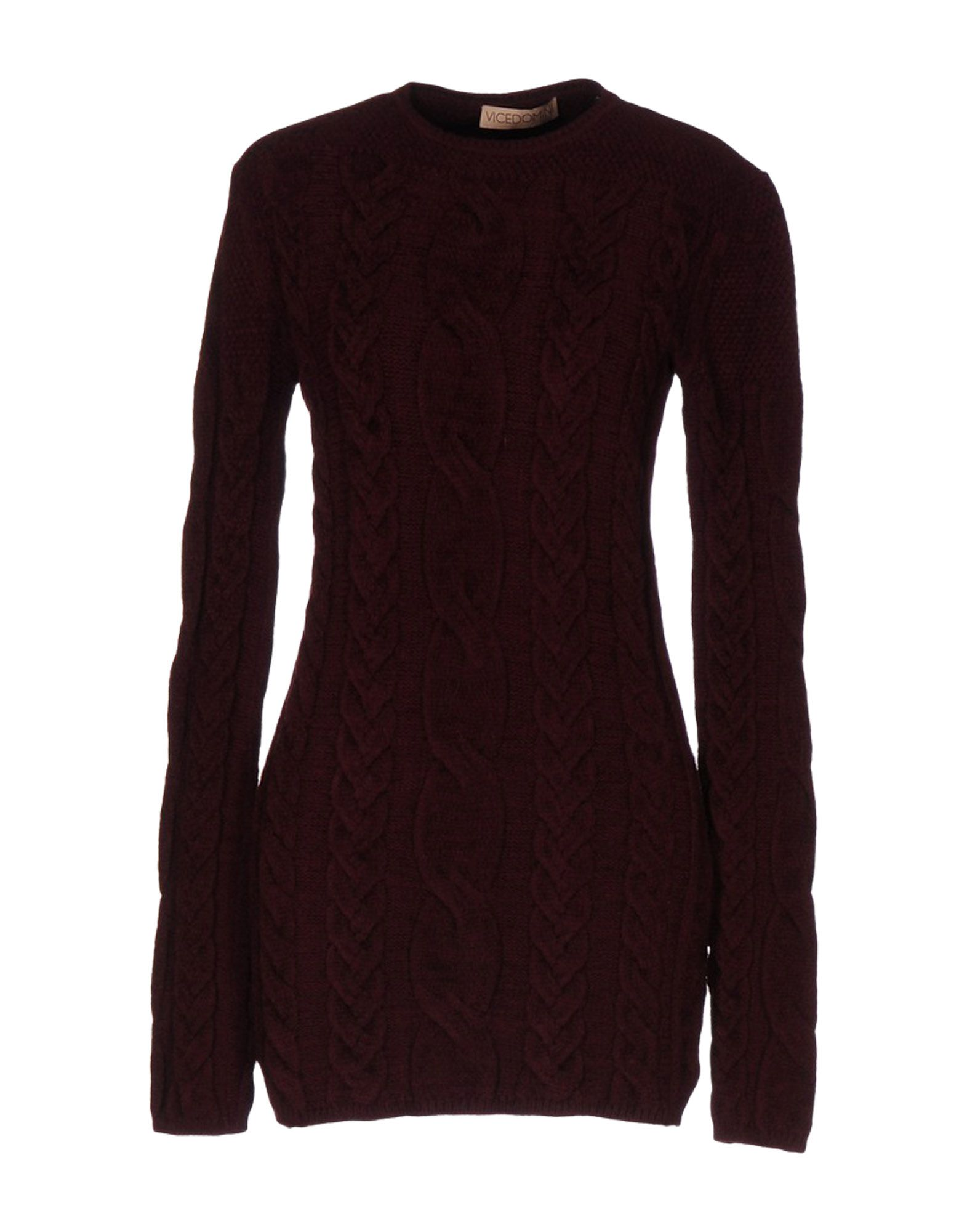 VICEDOMINI Sweater in Maroon