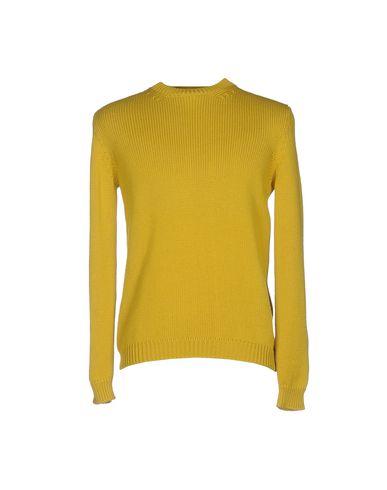 Фото - Мужской свитер ROBERTO COLLINA цвет охра