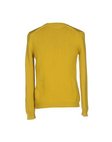 Фото 2 - Мужской свитер ROBERTO COLLINA цвет охра