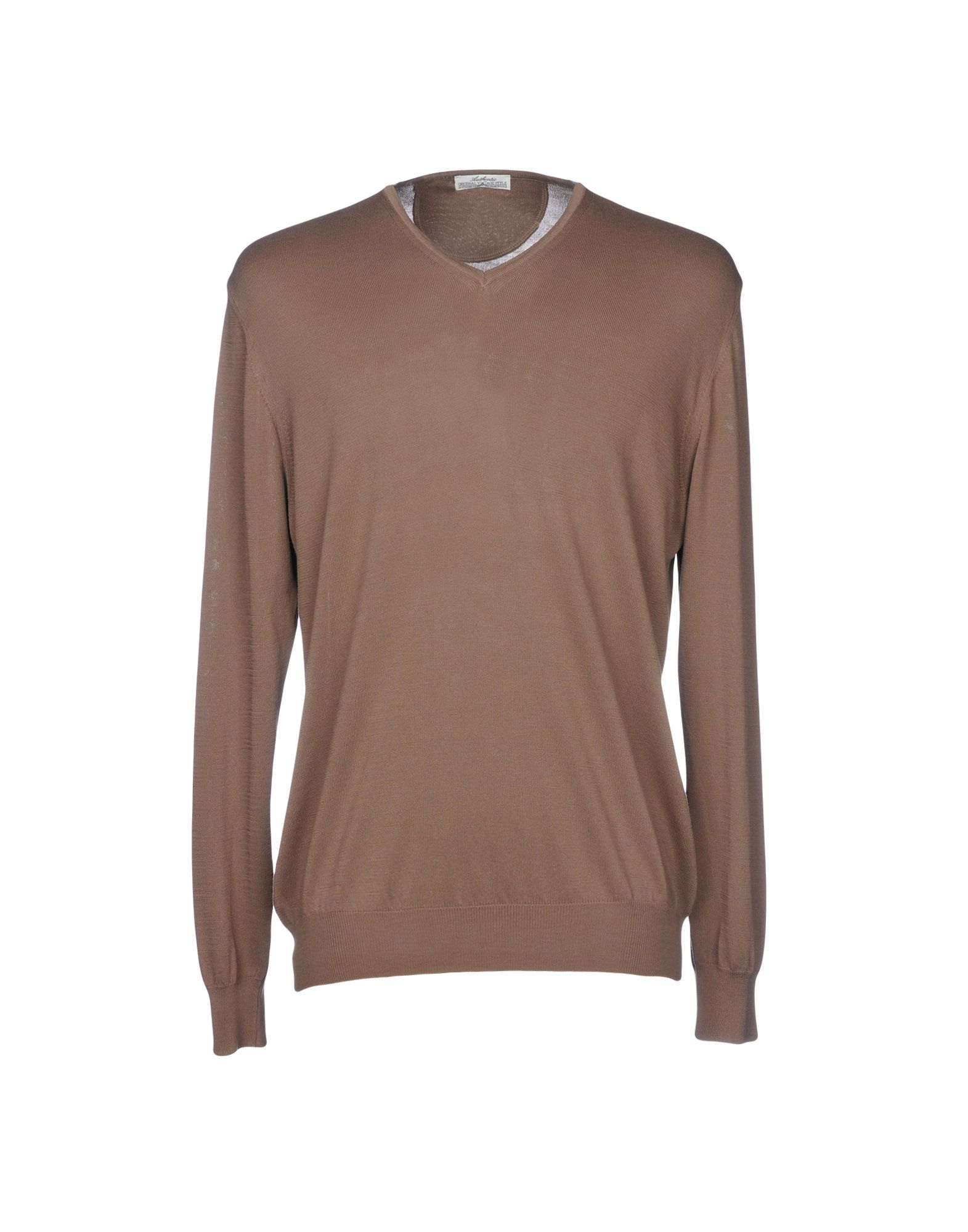 AUTHENTIC ORIGINAL VINTAGE STYLE Sweater in Light Brown