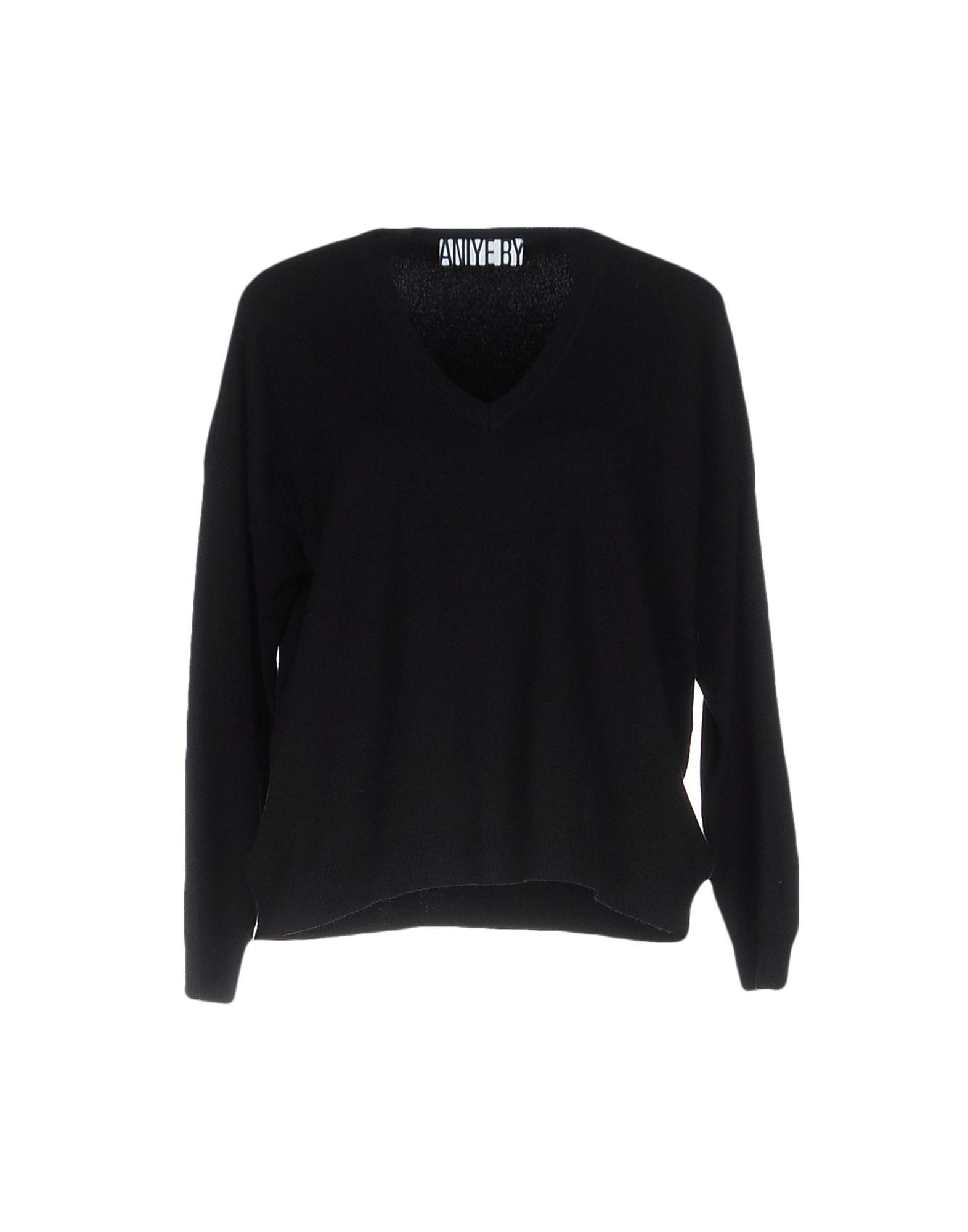 ANIYE BY Damen Pullover Farbe Schwarz Größe 4