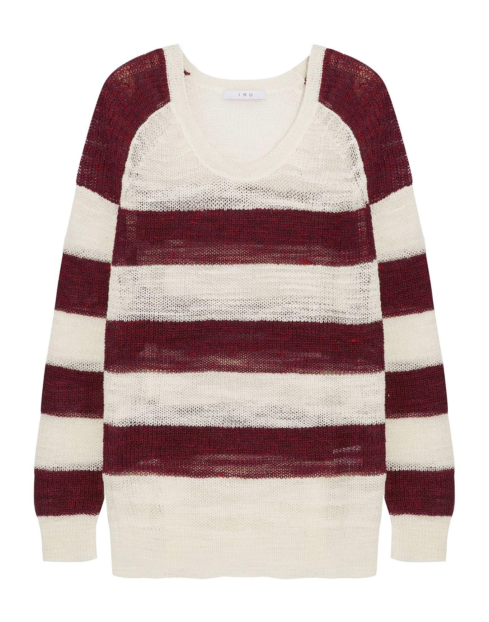 IRO Свитер мужской свитер в полоску 52
