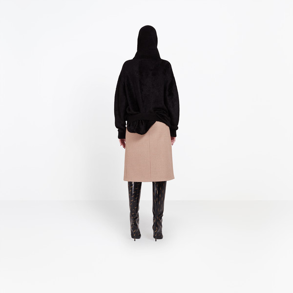 BALENCIAGA Knitwear Woman Headscarf Crewneck h