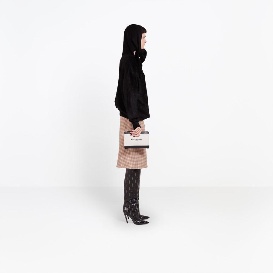 BALENCIAGA Headscarf Crewneck Knitwear Woman i