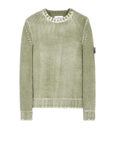 STONE ISLAND Crewneck sweater 513D6 COLOUR CORROSION TREATMENT