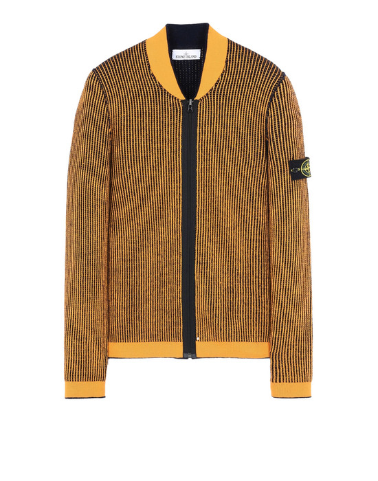 STONE ISLAND Sweater 555D1 REVERSIBLE KNIT