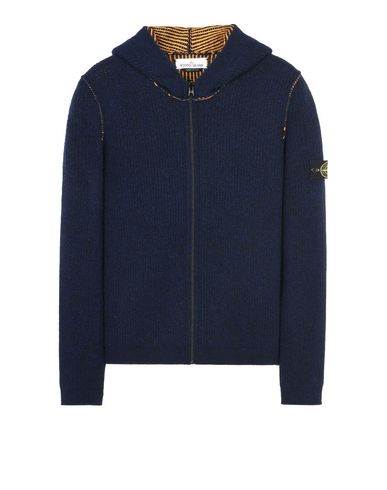 STONE ISLAND Cardigan 578D1 REVERSIBLE KNIT