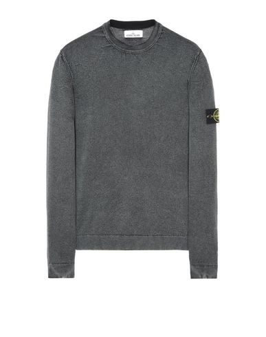 STONE ISLAND Crewneck 561D4 WHITE FROST